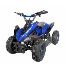 ATV electric pentru copii, 36V / 12Ah / 800W, 25 Km/h, 3+1 viteze, albastru, Hecht 54801