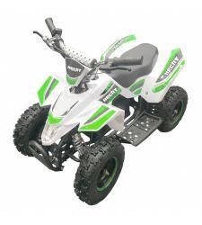 ATV electric pentru copii, 36V / 12Ah / 800W, 25 Km/h,alb cu verde, Hecht 54803