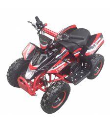 ATV electric pentru copii, 36V / 12Ah / 800W, 25 Km/h, rosu cu negru, Hecht 54802
