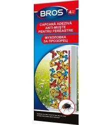 Capcana colorata adeziva muste pentru fereastra, Bros 256