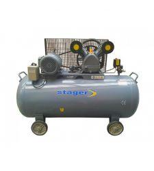 Compresor aer trifazat 370L / 8bar / 5.5 CP, Stager HM-V-0.6