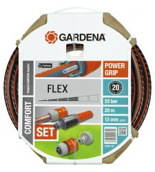 "Furtun FLEX Comfort 1/2"", 20 m cu conectori si spritzer, Gardena 18034"