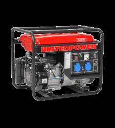 Generator curent 208 cm3 / 2.6 kW / 15 l / 7 ore, Hecht GG 3300