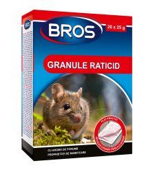 Granule raticide soareci si sobolani (500 g), Bros 366
