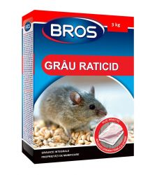 Grausor raticid (3 kg), Bros 059