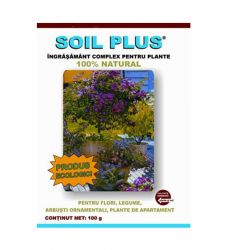 Ingrasamant solid natural SOIL PLUS (100 g)