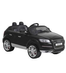 Masina electrica AUDI Q7 pentru copii, 12V / 10Ah / 2 x 35W, negru, Hecht AUDI Q7 AU716-BLACK