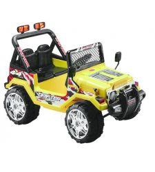 Masina electrica cu telecomanda Raptor Drifter pentru copii, 25W, galben, Hecht 56188