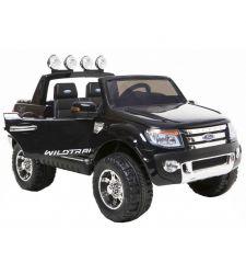 Masina electrica FORD RANGER pentru copii, 2V / 10Ah / 2 x 35W, negru, Hecht Ford Ranger-Black