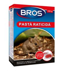 Momeala raticida tip pasta (100 g), Bros 051