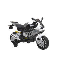 Motocicleta BMW electrica pentru copii, 2 x 35W, gri, Hecht BMW S1000RR-GREY