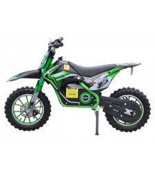 Motocicleta electrica pentru copii, 500W, verde, Hecht 54501