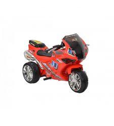 Motocicleta electrica pentru copii, efecte sonore, 18 W, rosu, Hecht 52131