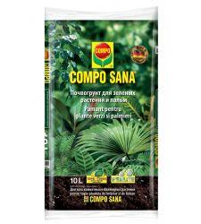 Pamant pentru plante verzi si palmieri (10 L), Compo 1431