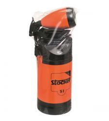Pompa manuala 5 l cu manometru + pulverizator de 1 litru, Stocker 255