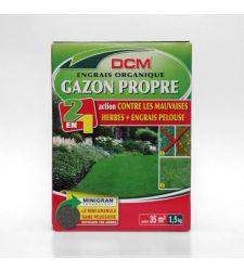 Fertilizant gazon + erbicid NPK 9-3-6 cu dispersor (1.5 kg), DCM
