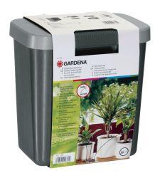 Set pentru udat pe durata concediului + container apa 9 L, Gardena 1266